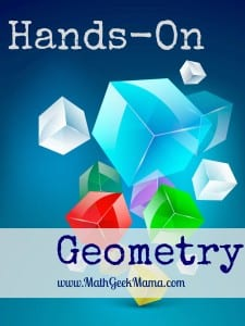 FREE, hands-on geometry lesson for exploring the surface area of three-dimensional shapes! Perfect for 8th grade or high school geometry classes.