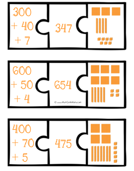 Expanded Number Puzzles