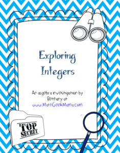 FREE algebra lesson for understanding adding and subtracting integers! Help your kids make sense of this challenging math concept without memorizing!