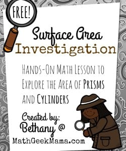 Exploring Surface Area: Hands-On Lesson!