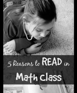 5 Reasons to Read in Math Class