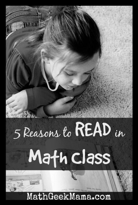 5 reasons to read in math