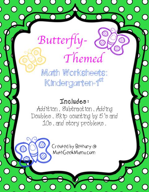 math worksheet : butterfly math worksheets 2nd grade  butterfly study and free  : Butterfly Math Worksheets