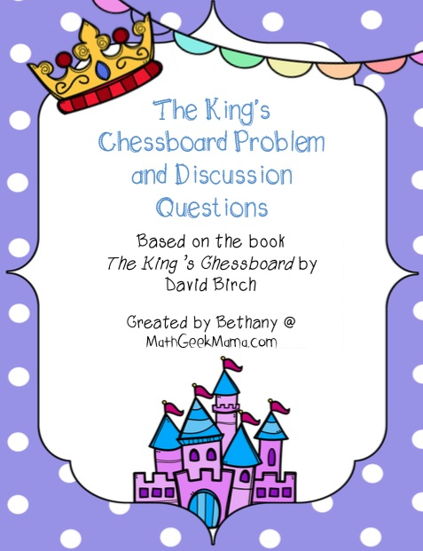 The Kings Chessboard Problem