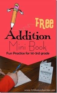 Addition Mini Book
