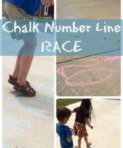 Taking Math Outside: Number Line Race