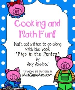 Let's Get Cooking! {Math Fun in the Kitchen}