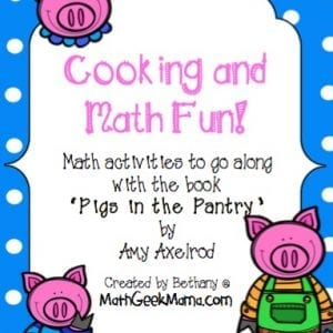 Pigs in the Pantry Math Activity