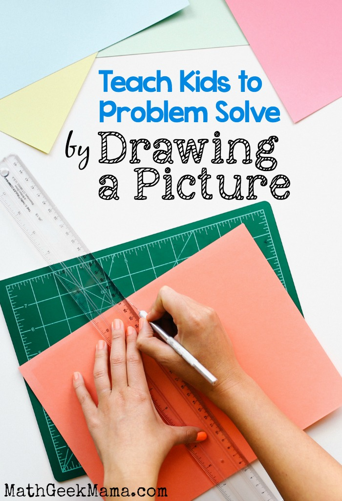 Things can become so much clearer when you have a visual! I love this helpful post for teaching problem solving by drawing a picture!