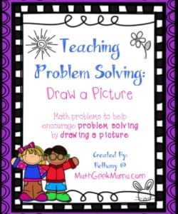 Problem Solving by Drawing a Picture