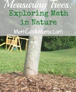 Exploring Math and Science in Your Own Backyard