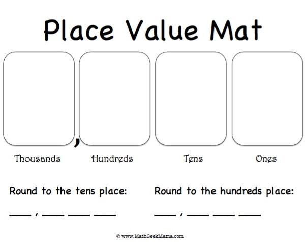 Math homework help place value