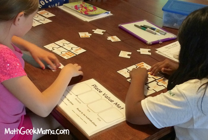 Summer Math Camp Week 1