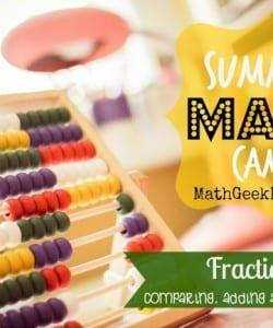 Summer Math Camp Week 3: Fractions!
