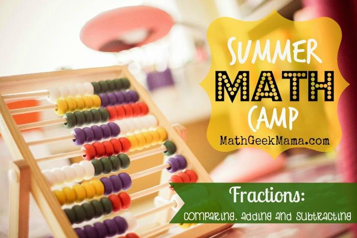Summer Math Camp Week 3