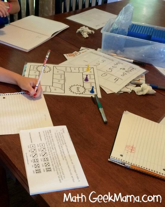 Summer Math Camp Week1 2