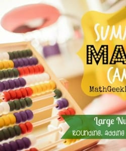 Summer Math Camp: Week 1