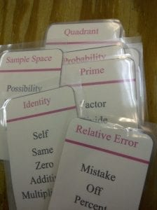 math taboo cards
