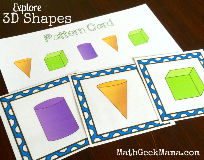 3D Shapes Games and Activities2