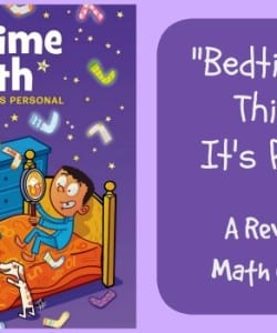 Bedtime Math: This Time It's Personal {A Review}