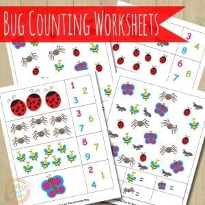 Bug-Counting-Worksheets