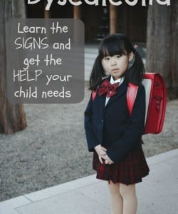 Dyscalculia: What it Looks Like and How to Get Help {An Interview with Sharon Harding}