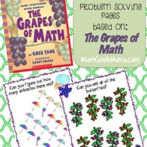 Grapes of Math Based Problem Solving Pages_MathGeekMama