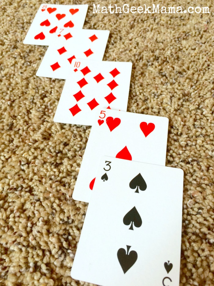Pyramid Math Card Game5