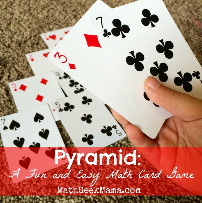 Pyramid_Math Card Game_Math Geek Mama