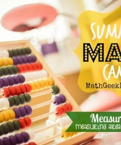 Summer Math Camp Week 6: Measurement!