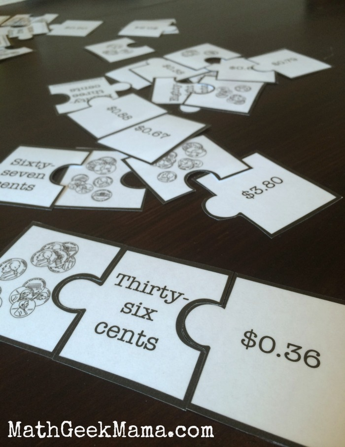 Summer Math Camp_Money Puzzles