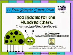 Fun and free ideas for teaching math!