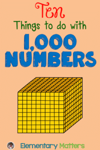 1000 numbers