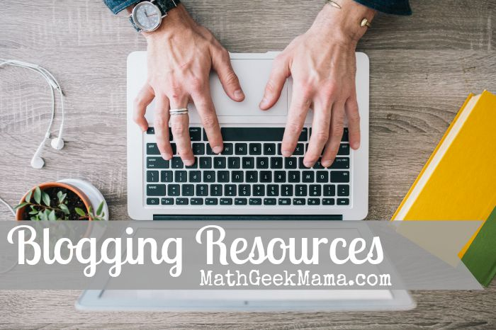 A list of my favorite blogging resources for learning about blogging and making money from blogging!