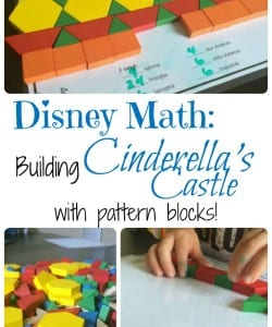 Using Pattern Blocks to Create Cinderella's Castle!