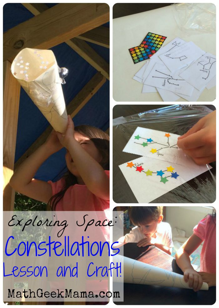 Want a fun and easy way to introduce your kids to stars and constellations? Check out this post! Such fun ideas, and a really easy craft!