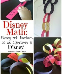 Disney Math! {Countdown to Disney World!}