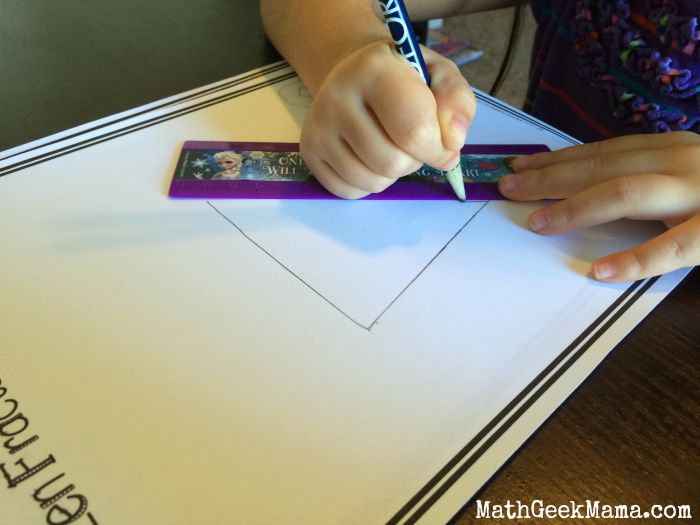 "Learn to draw a fractal snowflake with Elsa from ""Frozen!"" Fun with math and art!"