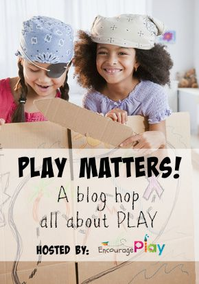 "Come discover how to learn math through play with the ""Play Matters"" blog hop!"