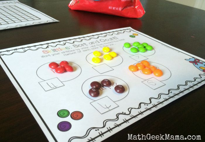 Skittles Math Count And Graph Free Printables. Skittle Mathmathgeekmama. Kindergarten. Simple Graphing Worksheets For Kindergarten At Mspartners.co