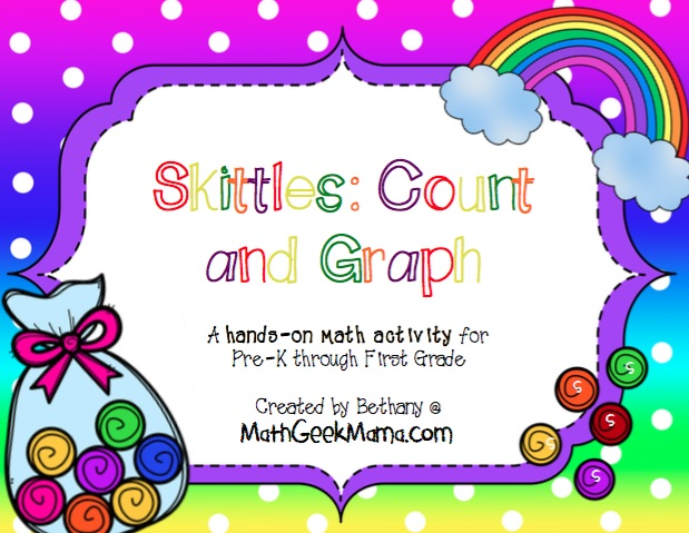 Skittles Count And Graph Printable Pack on Circle Graph Worksheets