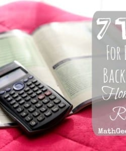 Find great tips and advice for getting back into a structured homeschool routine after a relaxing Summer break!