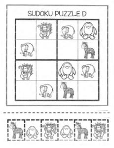 animal sudoku