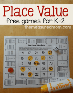 free-place-value-games