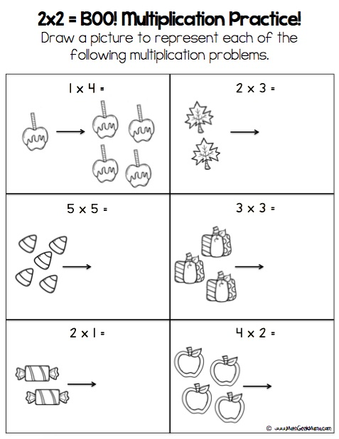 Introduction to Multiplication Lesson Bundle - Math Geek Mama