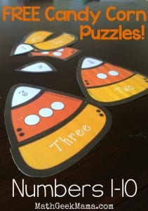 These cute puzzles are perfect for Fall! There are also pages to cut and paste if you want to make this a fine motor activity!