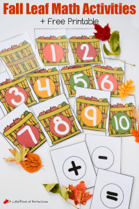 2015-10_Fall Leaf Math Activity and printable leaf baskets_A Little Pinch of Perfect 6 copy