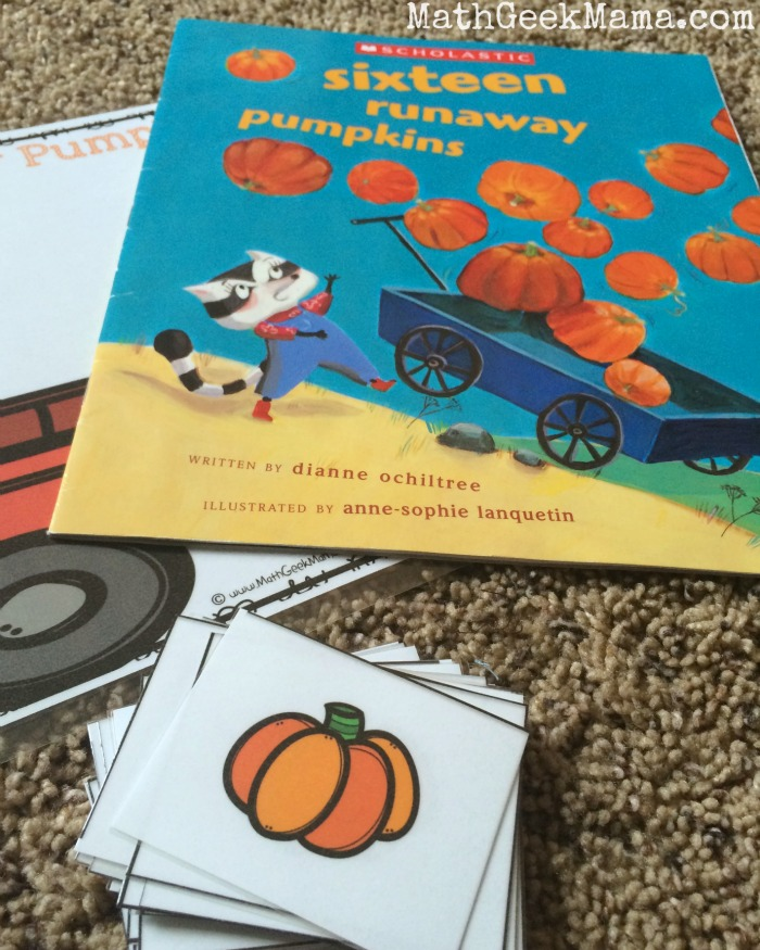 This book is so cute and I love this game to go with it! So fun for Fall!