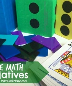 Knowing what to purchase to homeschool math can be so overwhelming! This post explains the necessary homeschool math manipulatives and what tools you can survive without!
