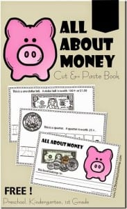 All About Money Cut and Paste Book for Preschool Kindergarten 1st grade_thumb[5]